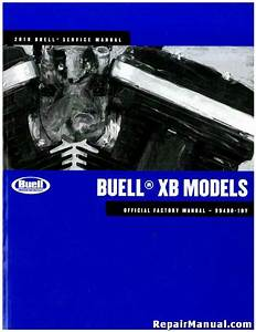 2010 Buell Xb Motorcycle Service Manual