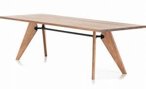Table Jean Prouvé : prouv table solvay ~ Melissatoandfro.com Idées de Décoration