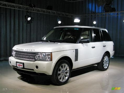 2006 Chawton White Land Rover Range Rover Supercharged
