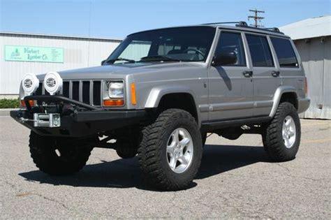 jeep cherokee xj grey find used 2001 xj cherokee sport 4 door 4 0 4x4 3 5 in