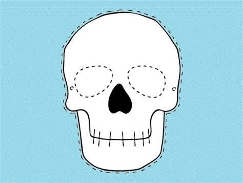 Mundo FiLi: Como hacer una mascara de calavera