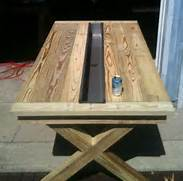 Make Outdoor Wood Table by 67 Rustic Furniture Pieces