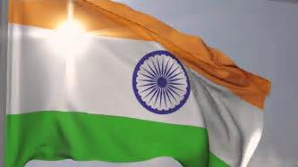 Fluttering Tiranga for Independence Day Wallpaper in HD