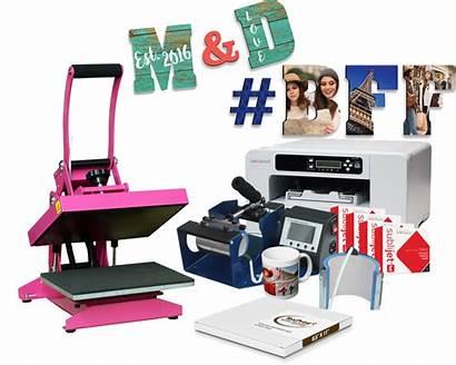 Sublimation Heat Press Mug Printer Bundle Package
