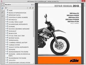 Ktm 690 Enduro - Service Manual