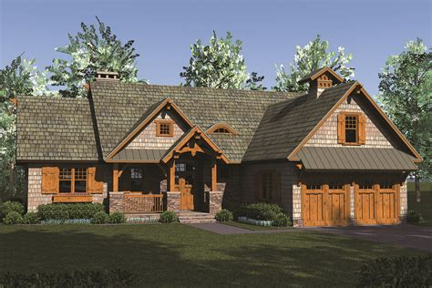 Craftsman House Plan #180-1049