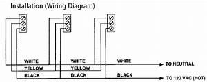 Firex 406 Ac Smoke Alarm Detector With Led Indicator  120 Volt