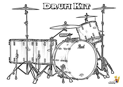 drum stencil template majestic musical drums coloring drums free snare