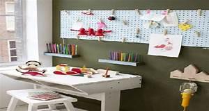Bureau Enfant Avec Rangement : bureau pour enfant d co avec rangement ~ Melissatoandfro.com Idées de Décoration