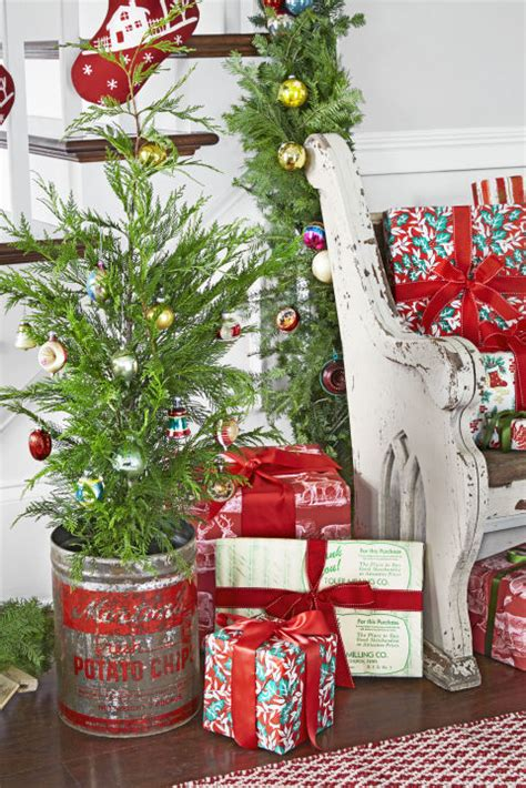rustic christmas tree ideas  inspiration page