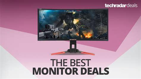 monitor deals  october  techradar