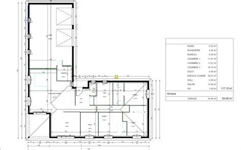 Plan Maison Plain Pied En L 120m2