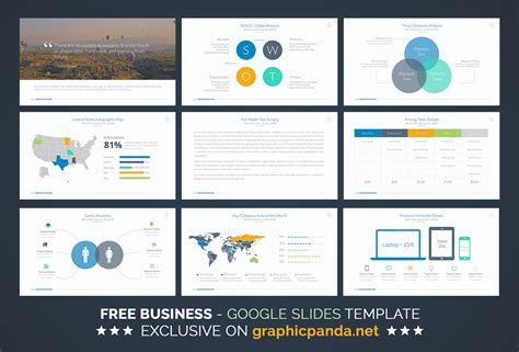 Free Pitch Deck Template by Free Business Plan Slides Template On Behance