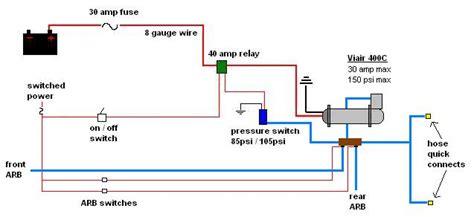 arb air locker wiring diagram 29 wiring diagram images