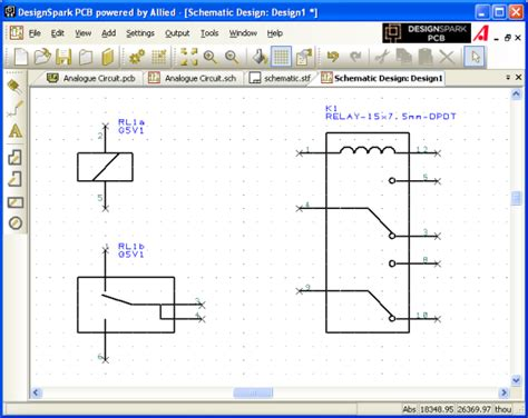 schematic symbol for relay schematic get free image