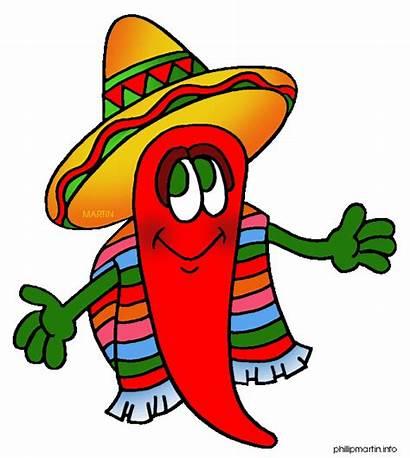 Mexican Mexico Clip Pepper Fiesta Chili Phillip