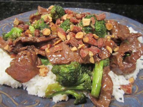 szechuan beef szechuan beef and broccoli with wasabi almonds tamara leigh the kitchen novelist