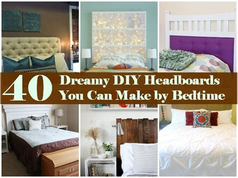 Where Can I Buy A Headboard For My Bed by 40 Dreamy Diy Headboards You Can Make By Bedtime Diy