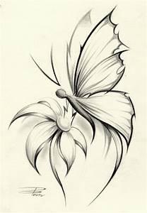 Butterfly Flower by ~davepinsker on deviantART | inkme ...