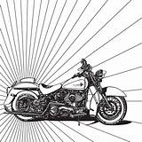 Coloring Motorcycle Harley Pages Adult Drawings Chopper Colouring Motorbike Motorcycles Sheets Mandala Babadoodle Cool Pattern Getdrawings Drawing Books Background Trippy sketch template