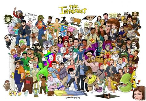 Collage Meme - the entire internet in one poster neatorama