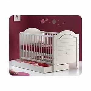 lit bebe evolutif lilas avec matelas bebe ma chambre d With stickers chambre enfant avec prix matelas 160x190