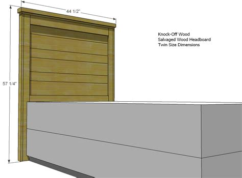 White Headboard Plans by White Build A Reclaimed Wood Headboard And