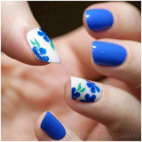flower nail design 150 colorful nail designs for every color nail designs