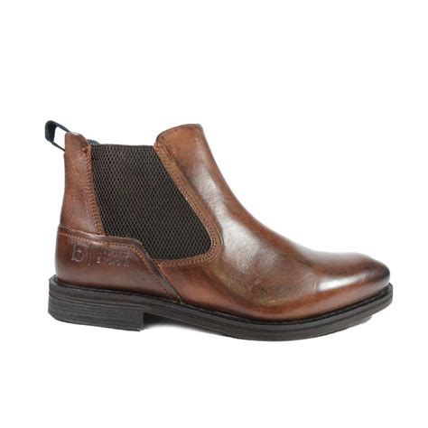 Trendy shoes and boots to suit all tastes and occasions. Bugatti 321-A0830 6000 Brown Leather Mens Chelsea Boots | SALE | Buy Online UK