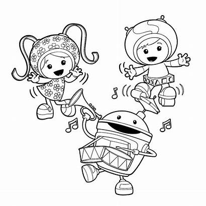 Umizoomi Coloring Team Pages Printable