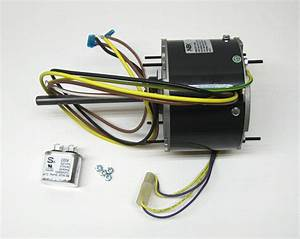 Ac Air Conditioner Condenser Fan Motor 1  6 Hp 1075 Rpm 230