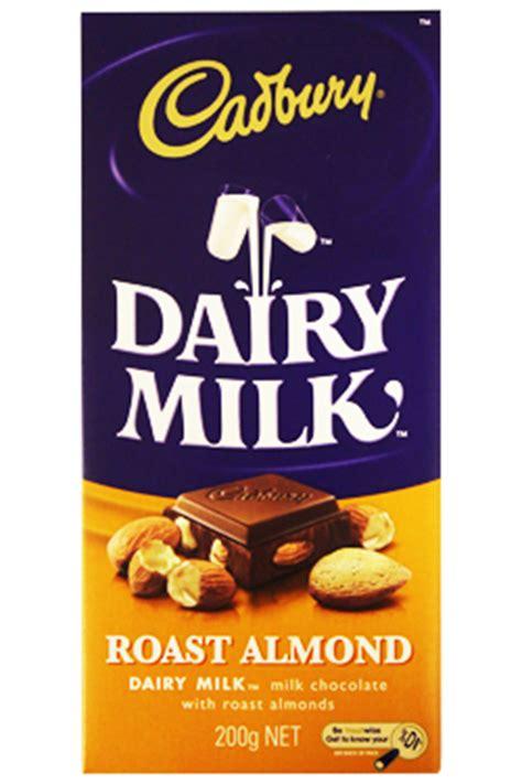 cadbury roast almond king size chocolate  australia