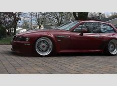 Bagged BMW Z3 M Coupe Shows Us that all Things Have their