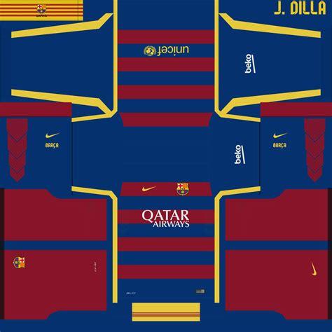 Download 512x512 DLS Barcelona Team Logo & Kits URLs 17-18