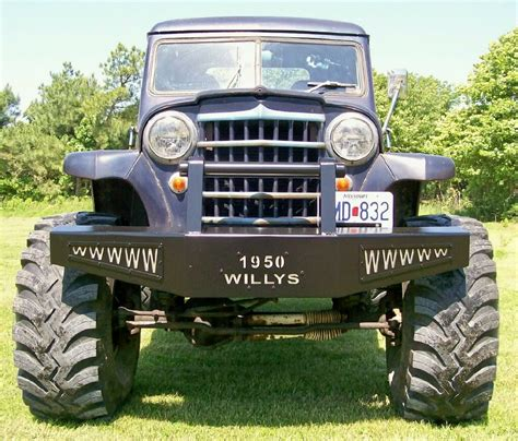 willys jeep truck green 1950 willys pickup information and photos momentcar