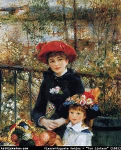 Renoir – Two Sisters (On the Terrace)   Art Kicks Ass ...
