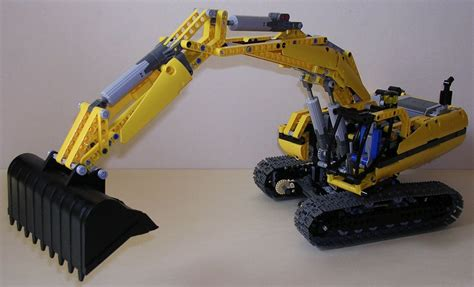 Lego Technic Garage by Techlug Fr Review Lego Technic 8043 Excavatrice Lego