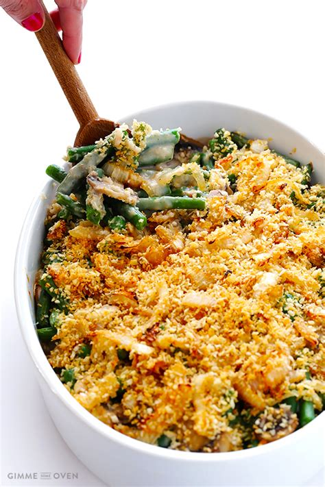 healthy green bean casserole allfreecasserolerecipescom