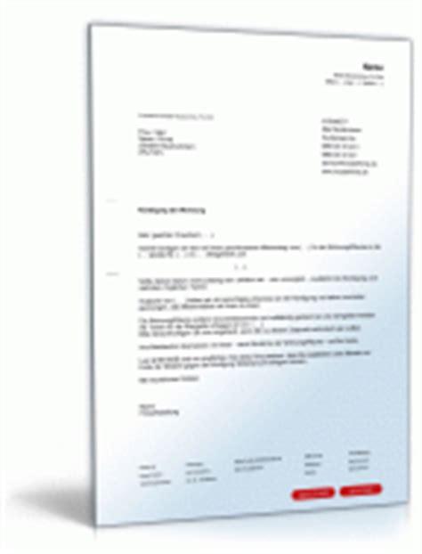 befristeter mietvertrag kündigung durch vermieter k 252 ndigung muster und vorlagen