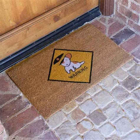 10 Places Where You Can Use Personalized Door Mats