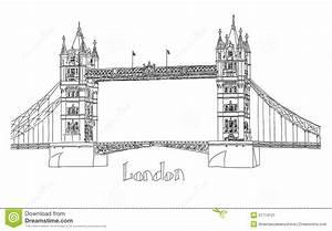 London Bridge Dessin : illustration de vecteur de pont de tour londres illustration stock image 51714121 ~ Dode.kayakingforconservation.com Idées de Décoration