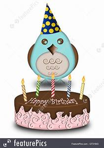 birthday invitation creator free celebration happy birthday blue bird with cake candles
