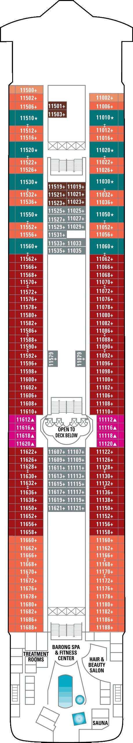 Ncl Deck Plans 11 by Deck Plans
