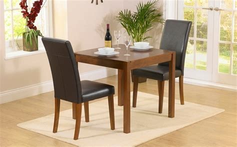 dining room sets 2 chairs dark wood dining table sets
