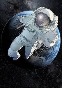 Astronaut Print | Paul Duffield