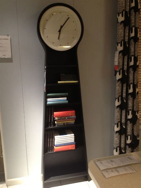 Ikea Clock Bookcase by Cool Clock Bookcase At Ikea Clocks What Time Is It