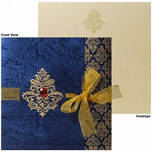 Latest indian wedding invitation card designs yaseen for for Wedding box cards india
