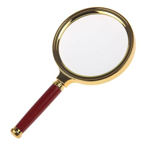 magnifying glass l 10x new 90mm handheld 10x magnifier magnifying glass lens