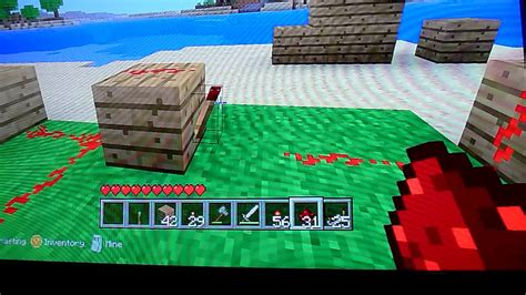 an xbox 360 minecraft tutorial door alarm system