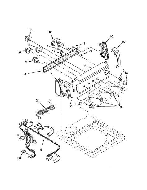 wireing diagram   kenmore washer model